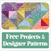 Visit our Patterns and Projects Section!