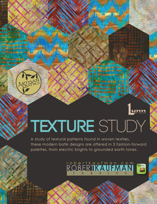 QuiltMaker FullPage textureStudios ad Treasure Hunt 2012 Sponsor: Robert Kaufman